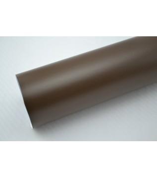 Mattbrun vinylfolie(30 meter)