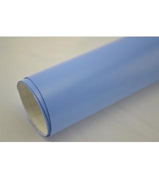 Matt ljusblå vinylfolie(30 meter)