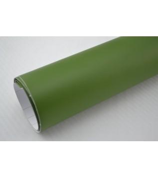 Mattmilitär grön vinylfolie(30 meter)