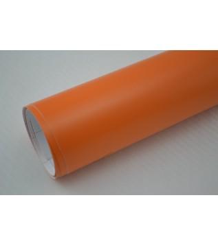 Mattorange vinylfolie(30 meter)