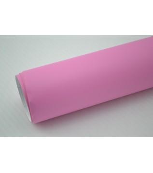 Mattrosa vinylfolie(30 meter)