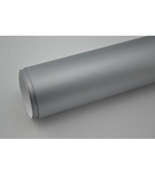 Mattsilver vinylfolie(30 meter)