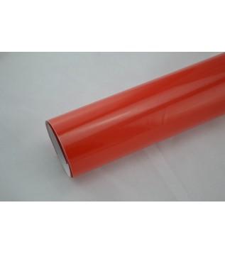 Blank röd vinylfolie(30 meter)