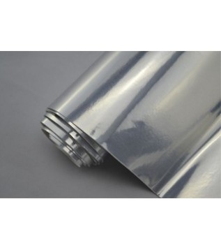 Silver speglande vinylfolie(4 Meter)