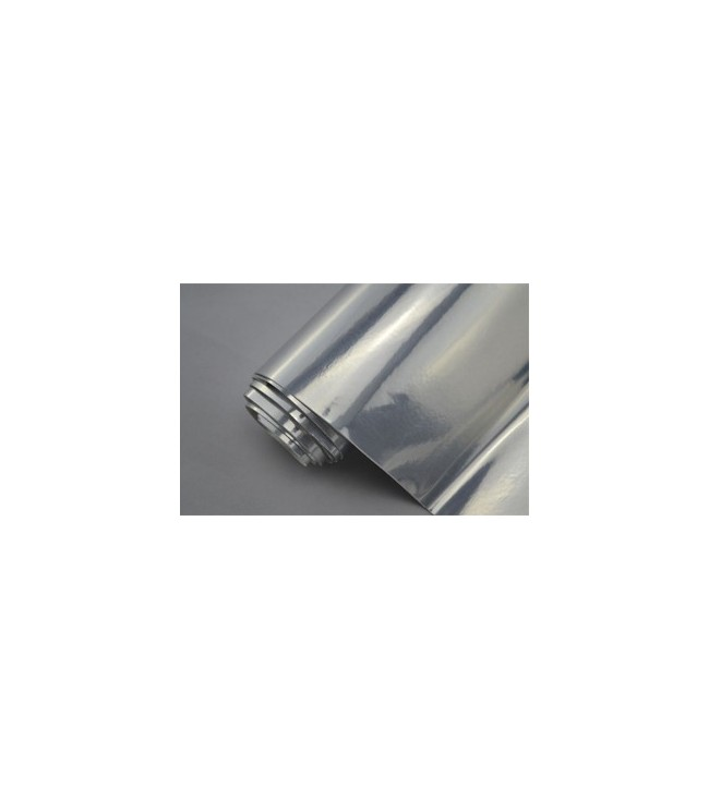 Silver speglande vinylfolie(30 meter)