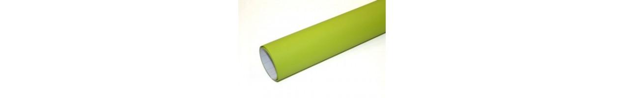Matt äppelgrön vinylfolie - Bilfoliering - Vinyl - Folie
