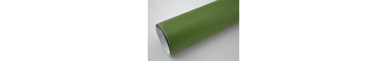 Mattmilitär grön vinylfolie - Bilfoliering - Vinyl - Folie