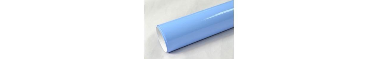 Blank ljusblå vinylfolie - Bilfoliering - Vinyl - Folie