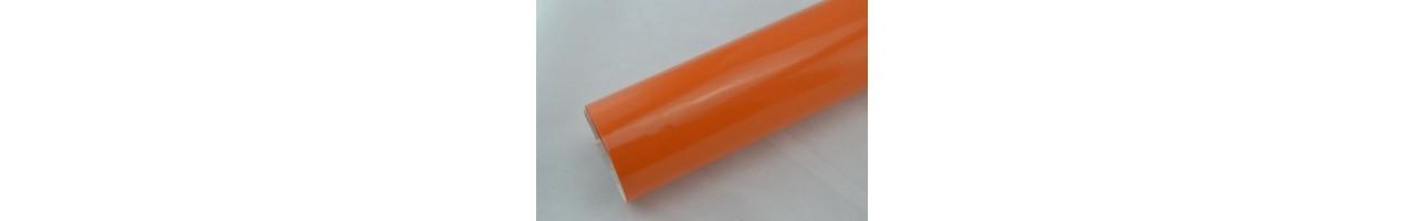 Blank orange vinylfolie - Bilfoliering - Vinyl - Folie