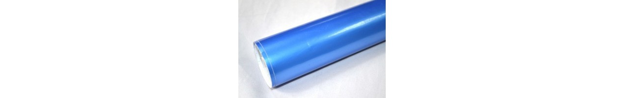 Blank pearl blå vinylfolie - Bilfoliering - Vinyl - Folie