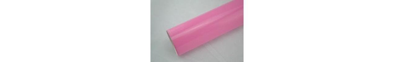 Blank rosa vinylfolie - Bilfoliering - Vinyl - Folie