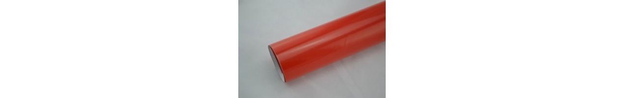 Blank röd vinylfolie - Bilfoliering - Vinyl - Folie