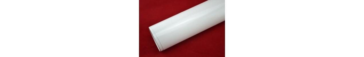 Blank vit vinylfolie - Bilfoliering - Vinyl - Folie